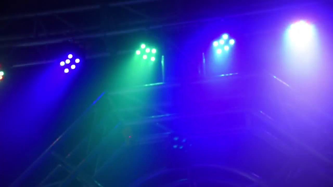 Effect Lights 4pcs 18w Led Dj Par Can Lights Dmx Disco Par Lamp