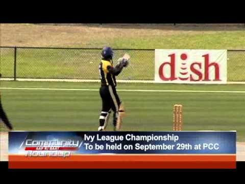 Ivy League Championship( American College Cricket) To Be Held on Sept 29 at PCC
