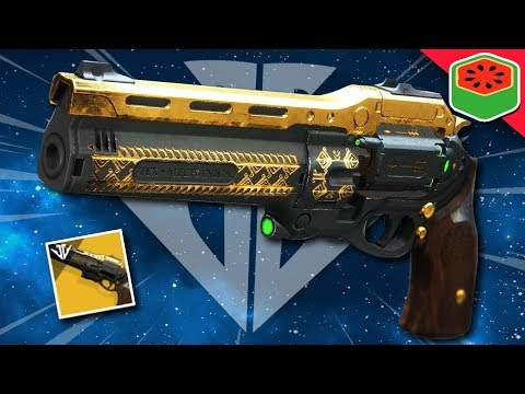 THE LAST WORD - Exotic Hand Cannon | Destiny 2 Black Armory thumbnail