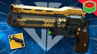 THE LAST WORD - Exotic Hand Cannon   Destiny 2 Black Armory