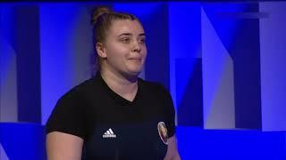 Екатерина Андрейковец BLR Women 87kg European Championships Moscow 2021