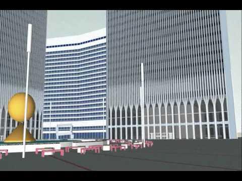 World Trade Center 3d Model Animation Youtube