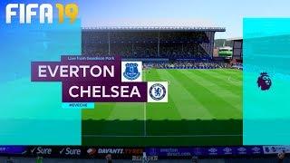FIFA 19 - Everton vs. Chelsea @ Goodison Park