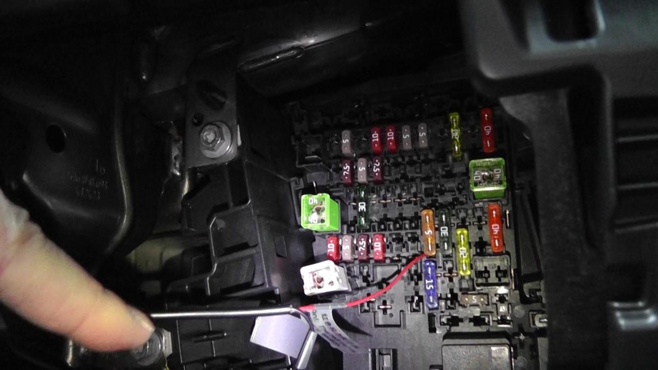 seat ateca hardwire vantrue x2 dashcam youtube seat arona fuse box diagram [ 1280 x 720 Pixel ]
