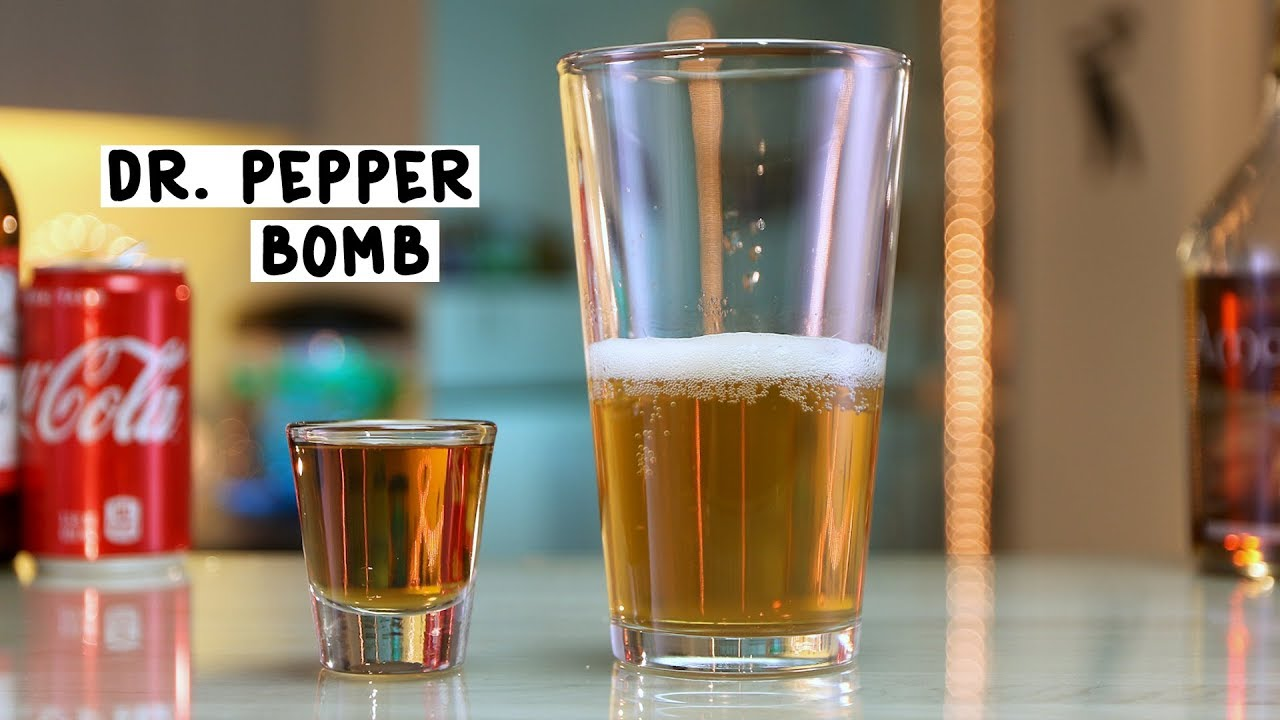 dr pepper bomb tipsy bartender youtube
