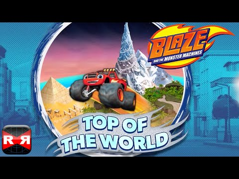 Blaze and the Monster Machines - Top of the World - iOS Gameplay Video