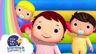 Jump Jump Baby Dance Song | Get Moving Corner | Learning Videos For Kids | Homeschool Cartoons