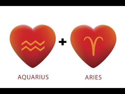 AQUARIUS + ARIES COMPATIBILITY 💜 GOOD MATCH