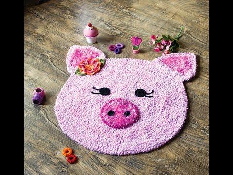Tapete de porquinha com Simone Eleotério | Vitrine do artesanato na TV