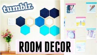 DIY: Tumblr Inspired Room Decor