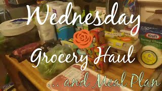 Wednesday Grocery Haul | HEB, Sprouts & Aldi | July 18, 2018 | Meal Planning