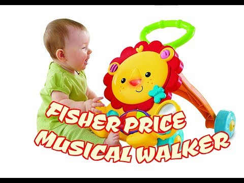 Fisher Price Musical Lion Walker Review