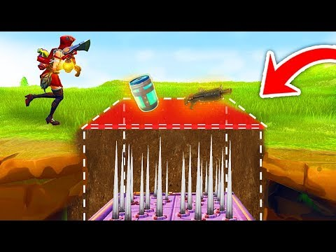 INVISIBLE TRAP TROLLING in Fortnite Battle Royale