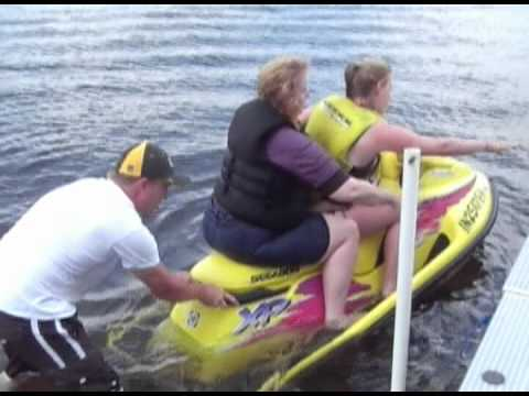 Hilarious Funny Video Of Daughter Giving Her Mother A Jet Ski Ride Youtube