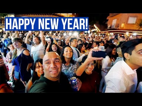 Playa del Carmen 🇲🇽  | HAPPY NEW YEAR 2017 [4K]