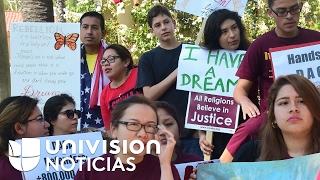 Activistas aseguran que continúa la tensión por el futuro del programa DACA