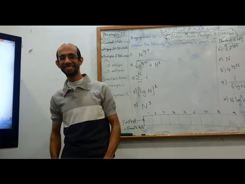 Algorithms analysis & Design - Dr.Ahmed Salah - Sec 3