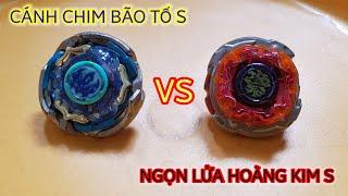 Cánh Chim Bão Tố S vs Ngọn Lửa Hoàng Kim S - Video 4K