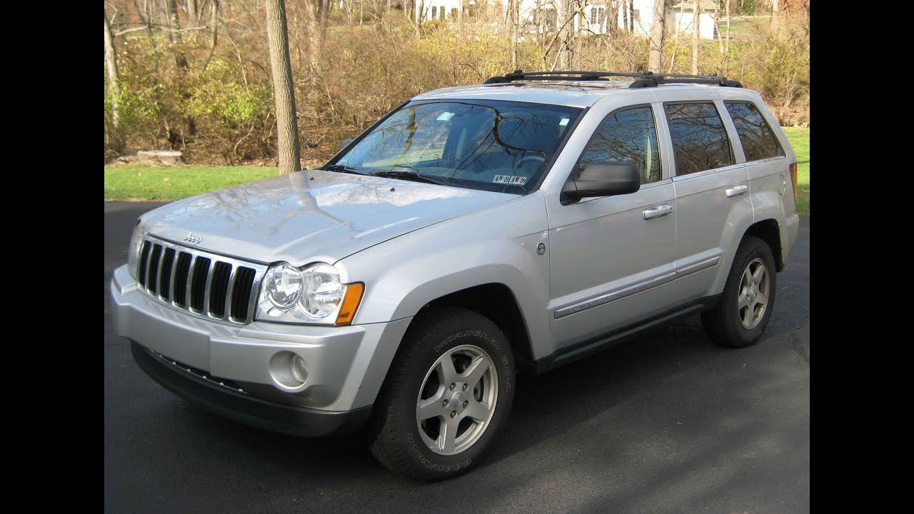 2006 Jeep Grand Cherokee Limited 2wd V8 Review   YouTube