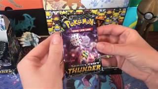 Lost Thunder Booster Box Opening!! (FULL ART GOODNESS!)