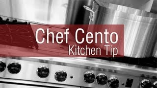 Gambar cover Chef Cento Kitchen Tip - How to make a Quick and Healthy Marinara