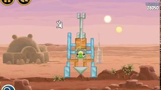 Angry Birds Star Wars -  Levels 1 - 2 - 3 - Terence Bird