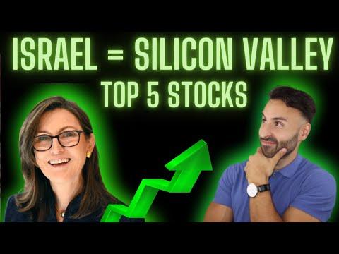 Ark Invest Israel ETF: Top 5 Growth Stocks | CATHIE WOOD PORTFOLIO |