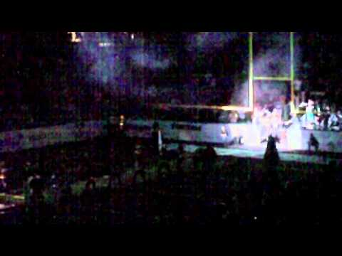 Arizona Rattlers Intro Home Opener 2010