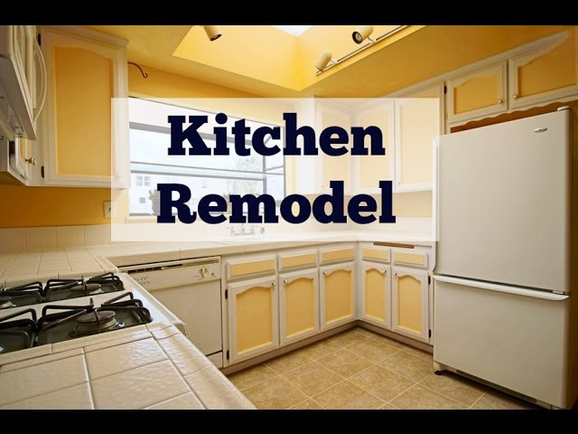 How To Remodel Your Kitchen On A Budget Two Tone Cabinets Dream Kitchen Remodel Youtube