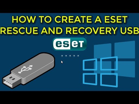 How To Create A Eset Sysrescue Usb With Windows 10 Pe Guide 2019