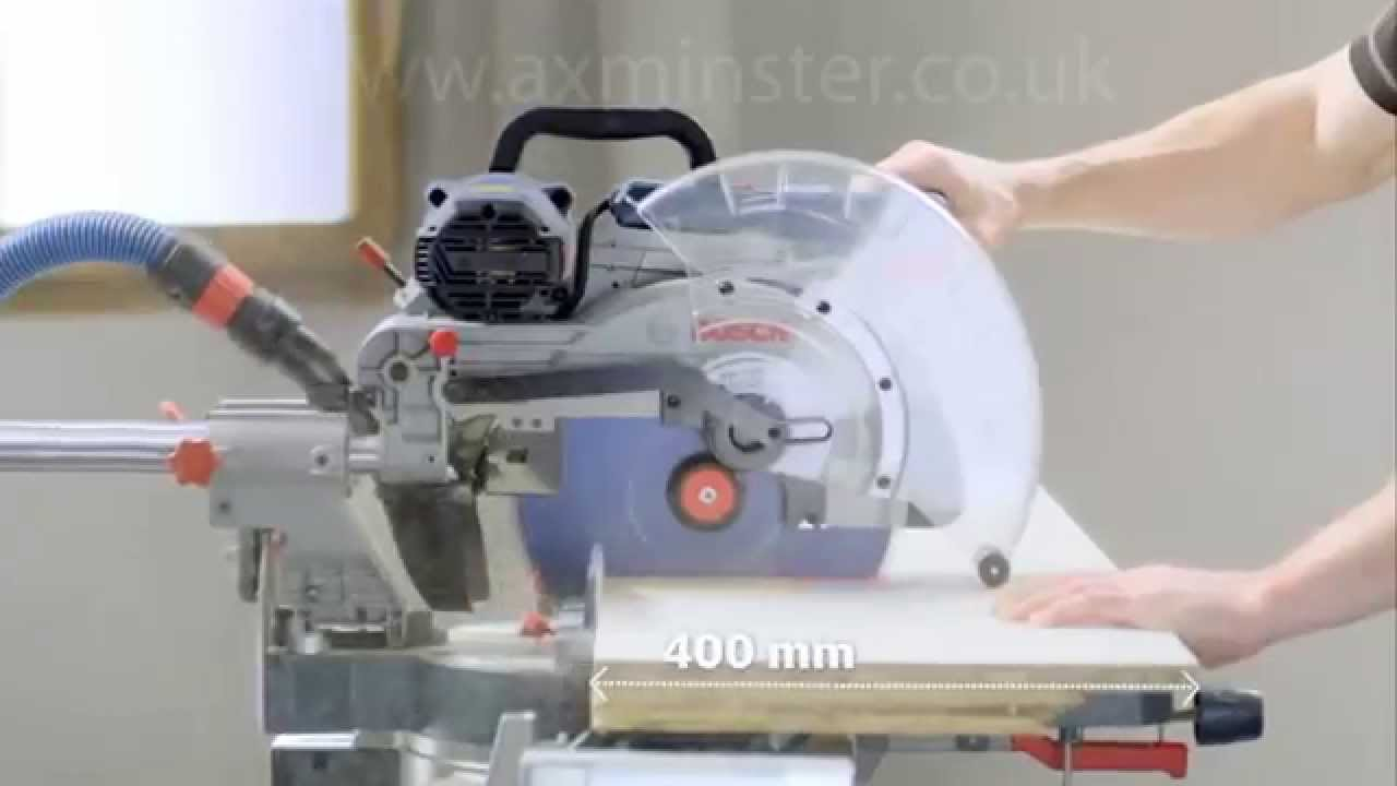 bosch gcm 12 sde professional sliding mitre saw youtube. Black Bedroom Furniture Sets. Home Design Ideas