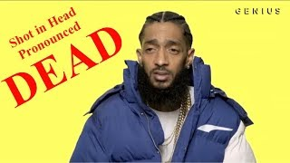 "RAPPER NIPSEY HUSSLE ""SHOT IN HEAD"" PRONOUNCED DEAD"