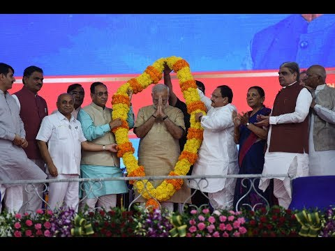 PM Modi Launches Mission Intensified Indradhanush in Vadnagar Gujarat