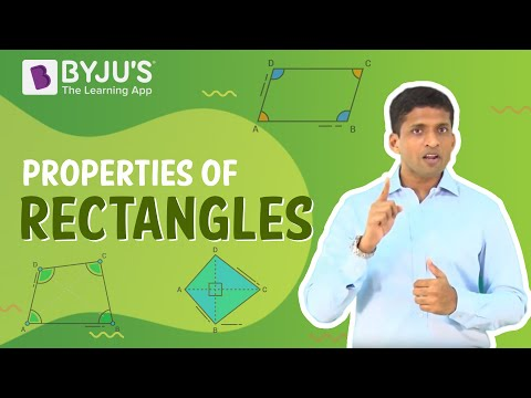 Understanding Quadrilaterals 07 - Properties of Rectangles