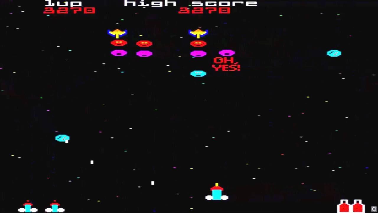 arcade hack gaylaxian by the dog 1998 star laugh galaxian