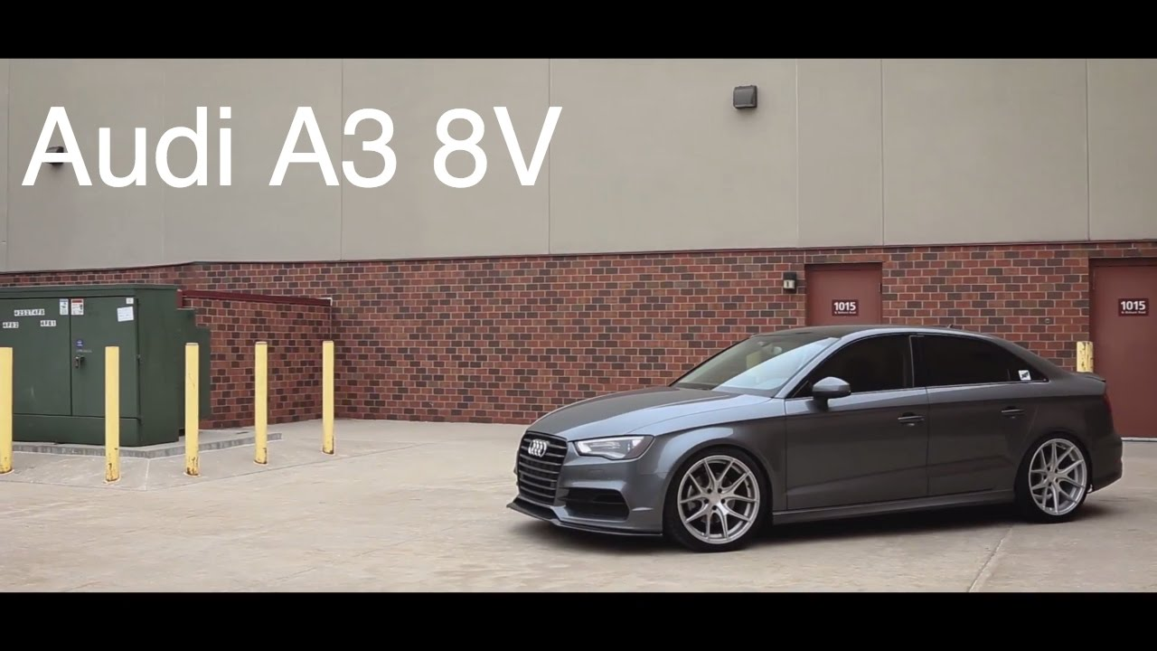 Lowered Audi A3 8V | AG Wheels | KW Suspension | B&B