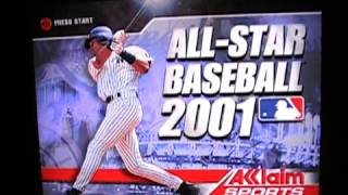 All-Star Baseball 2001 (N64) Gameplay Review