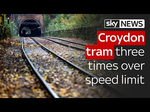 Croydon tram was three times over speed limit for deadly crash