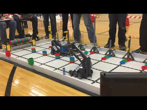 169 Points Finalist Winners - Vex IQ Ringmaster - Triton Central Middle School Tournament