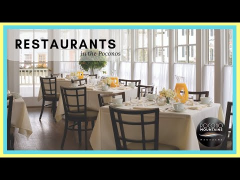 E9 Pocono Mountains Magazine Restaurants Youtube