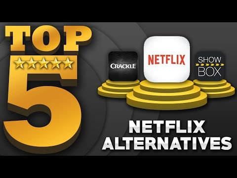 "Top 5 ""FREE"" Movies & TV Shows Apps (Best Netflix Alternatives)"
