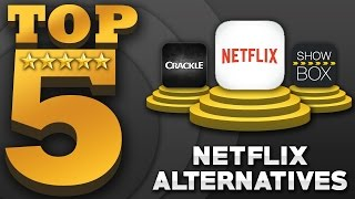 Top 5 'FREE' Movies & TV Shows Apps (Best Netflix Alternatives)