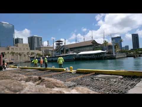 Sea Engineering Inc in action. aloha towers! 31 Mar 2017