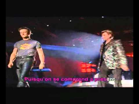 karaoke francais johnny hallyday sang pour sang youtube. Black Bedroom Furniture Sets. Home Design Ideas