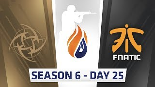 ECS Season 6 Day 25 NIP vs Fnatic - Inferno
