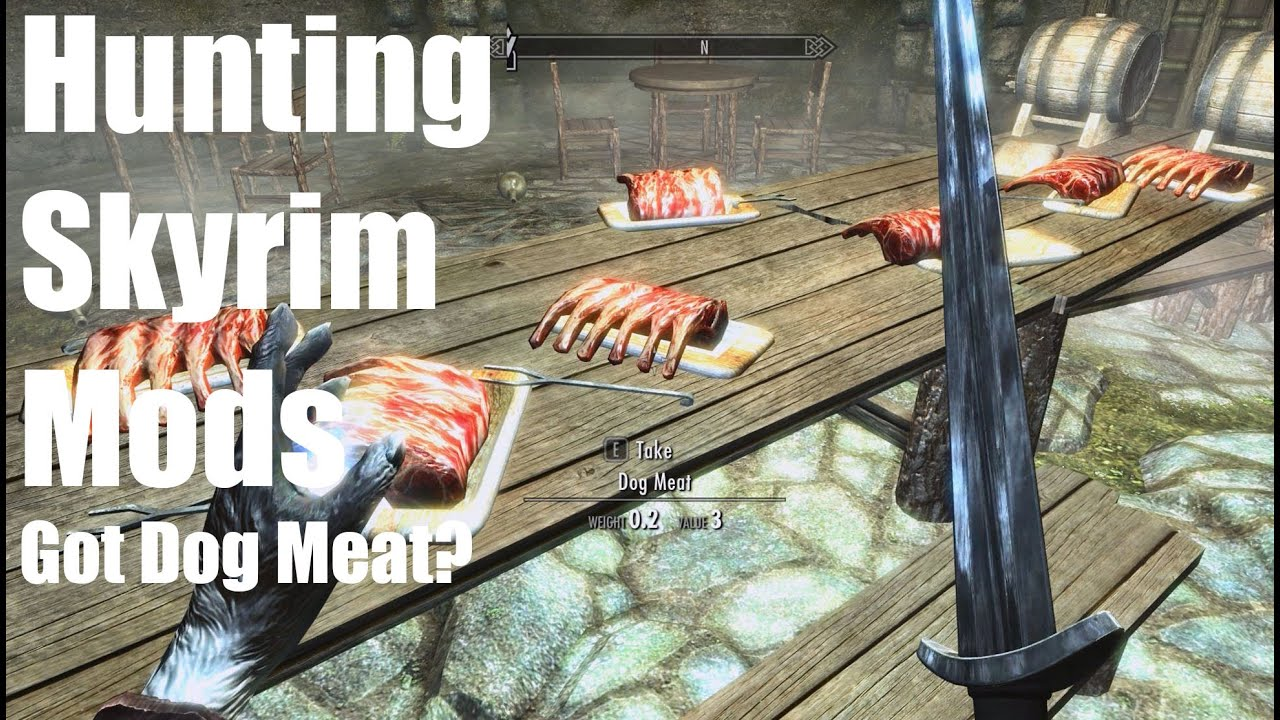 Going Hunting Skyrim #2 Got Dog Meat?