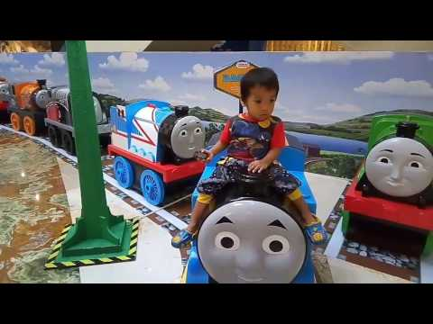 VLOG | REVIEW | Thomas And Friends Mini And Mighty Indonesia Mall Gandaria City 2017