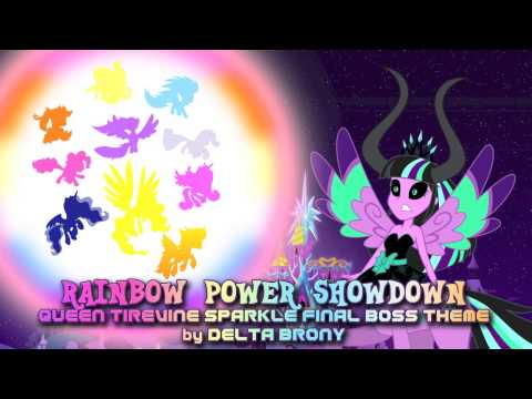 Rainbow Power Showdown (Queen Tirevine Sparkle Final Boss Theme)