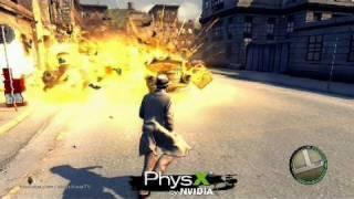 mafia 2 - Awesome Nvidia PhysX Trailer  HD
