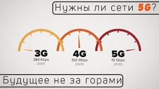 Нужны ли нам сети 5G? Будущее не за горами...